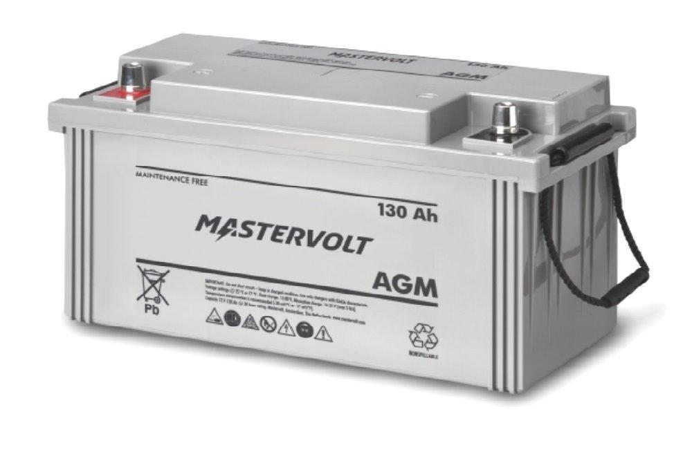 Batteria mastervolt italia agm 12 130 per nautica 12v 130 ah la casa della batteria nautica - Batteria per casa ...